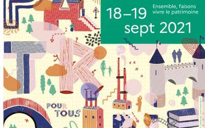 Journées européennes du patrimoine – édition 2021